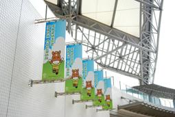 JRA 日本中央競馬会さま 阪神競馬場装飾企画01