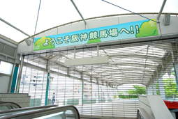 JRA 日本中央競馬会さま 阪神競馬場装飾企画06